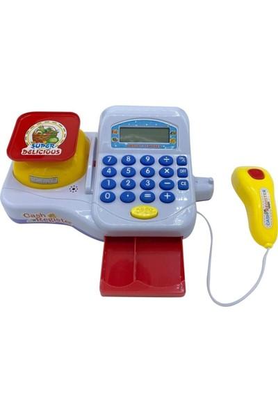 Heticaret Cash Register Elektronik Oyuncak Yazar Kasa Market Kasası Sesli Işıklı