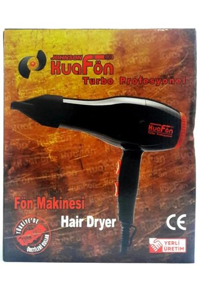 Johnson Kuafön Turbo Profesyonel Fön Makinesi + Vigo Başlık