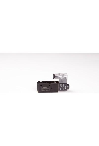 Crox 3V210-08 1/4 3/2 Tek Bobin Valf 220 Ac