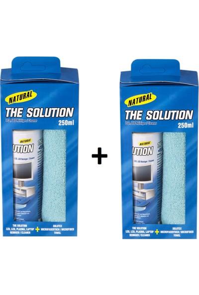 The Solution Ekran Temizleme Seti – 250 ml Temizleyici - 2 Adet
