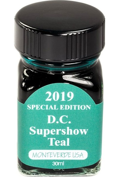Monteverde 2019 D.c. Supershow Teal Mürekkep 30 ml G309DT