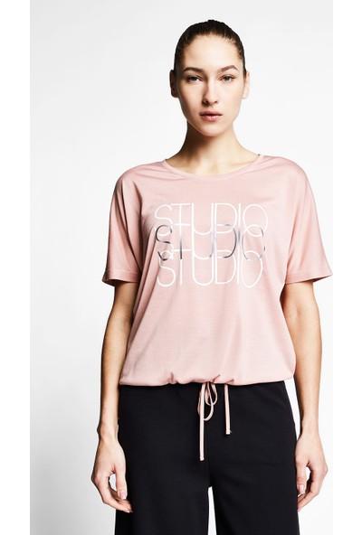 Lescon Somon Kadın Kısa Kollu T-Shirt 21B-2031