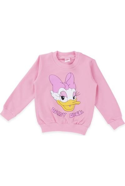 Daisy Duck Kız Çocuk Pembe Mevsimlik Eşofman Takımı