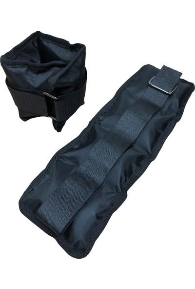 Bluu El Ayak Bilek Ağırlığı Çift Imperteks Siyah 5 kg x 2'li