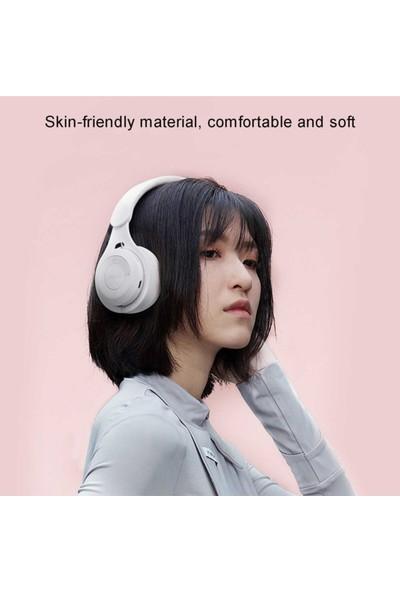 Blupplem6 Bluetooth 5.0 Wireless Kablosuz Kulaküstü Stereo Kulaklık USB Katlanabilir Mavi Genç