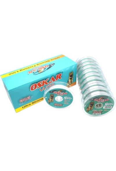 Oskar Ultra Invisiline Misina 100MT 0.8mm