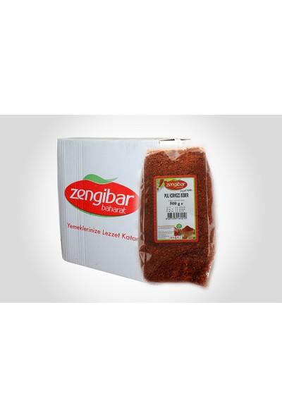 Zengibar Evlik Pul Biber 500 gr
