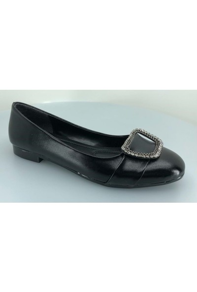 Daisy Taşlı Kadın Klasik Babet Ayakkabı
