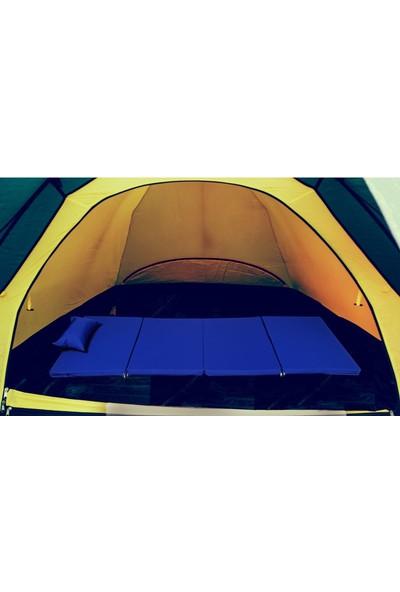 Bysay Taşınabilir Katlanır Plaj Şezlongu Havuz Şezlongu Kamp Yatağı Minderi