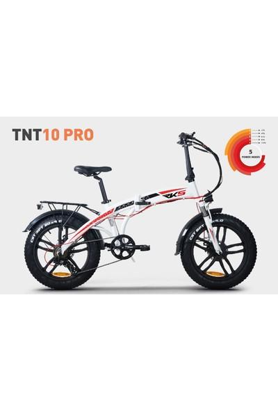 Rks TNT10 Pro Elektrikli Bisiklet - Beyaz