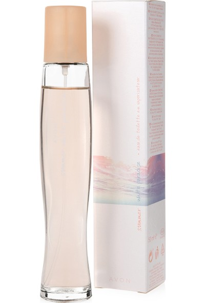 Avon Summer White Paradise Kadın Parfümü Edt 50 Ml.