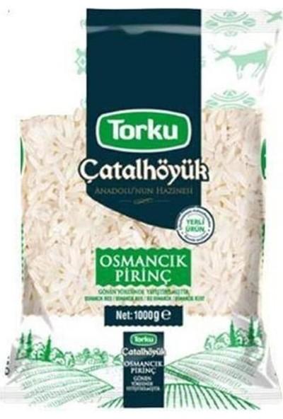 Torku Çatalhöyük Osmancık Pirinç 1 kg
