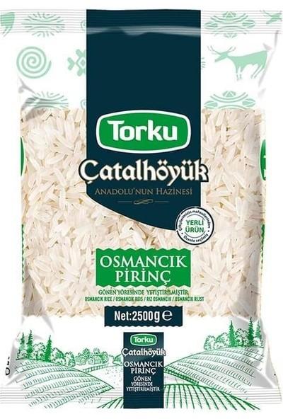 Torku Çatallhötük Osmancık Pirinç 2500 gr