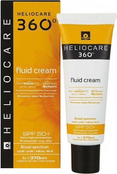 Heliocare 360 Fluid SPF50+ Koruyucu Güneş Kremi 50 ml