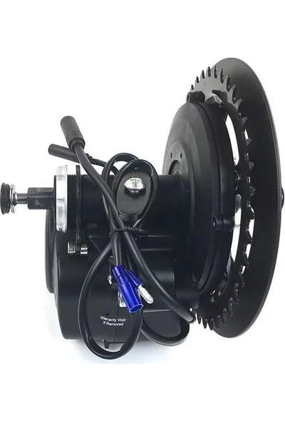 Tongsheng Tsdz2 Mid Drive Elektrikli Bisiklet Dönüşüm Kiti (48V 500W)