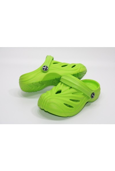 Kaşgar Ultra Hafif Kaymaz Hem Terlik Hem Sandalet Önü Kapalı Sabo Terlik
