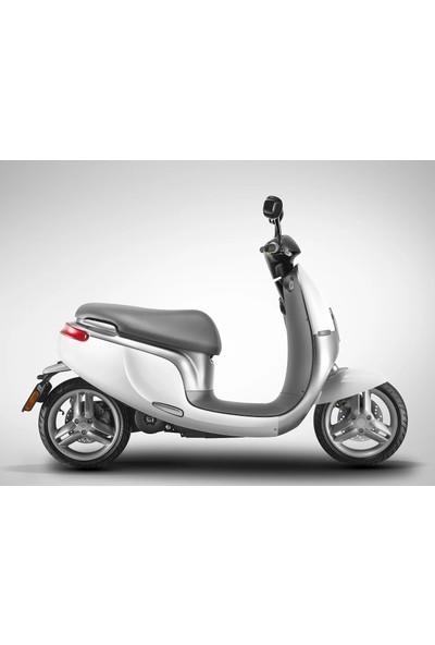 Watt Elektrikli Motosiklet 1ES 3000W Beyaz