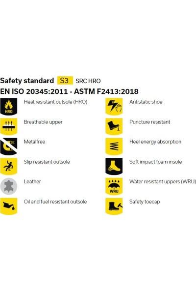 Safety Jogger Turbo S3 Src Hro Metal Free Iş Güvenlik Ayakkabısı 40