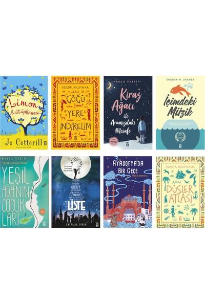 Timaş Gençlik Romanları (Içimdeki Müzik + Kiraz Ağacı ile Aramızdaki Mesafe + Limon Kütüphanesi + Düşler Atlası + Ayasofya'da Bir Gece + Liste + Yeşil Adanın Çocukları + Göğü Yere Indirelim)