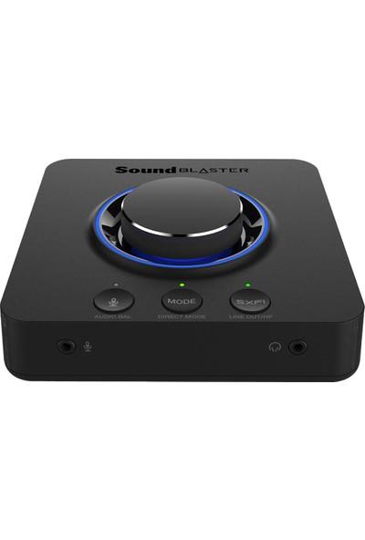 Creative Sound Blaster X3 - Hi-Res - 7.1 Harici USB Dac ve Amp Ses Kartı - Super X-Fi®- Pc ve Mac Uyumlu