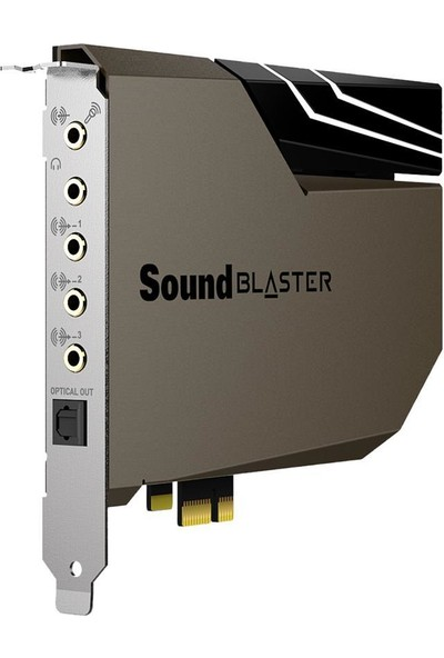 Creative Sound Blaster Ae-7 - Hi-Res- Dahili Pcıe Ses Kartı, Dört Çekirdekli Işlemci, 127DB Dnr Ess Saber 9018 Dac, Xamp Bi-Amp, 5.1 / 7.1 Hd, Dolby Dts