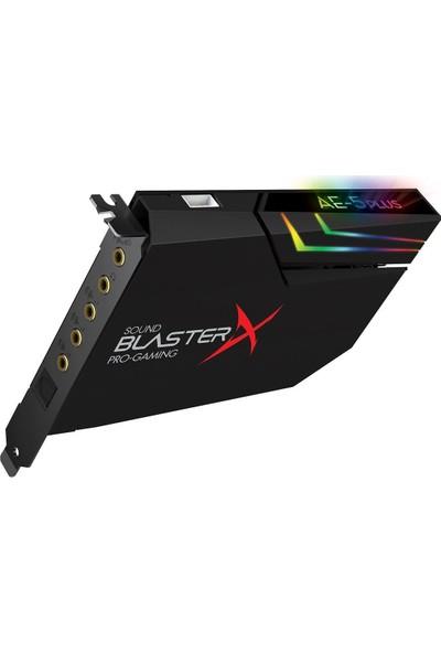Creative Sound Blasterx Ae-5 Plus -Hi-Res- 32-Bit / 384 Khz - Pcı-E Oyuncu Ses Kartı
