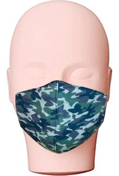 Izev Yıkanabilir Unisex Yetişkin Maske