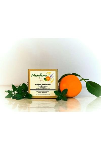 Mediflora - Kepekli Saçlar Için Arındırıcı Ferahlatıcı ve Hacimlendirici Katı Şampuan (Konsantre)
