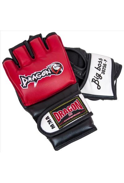 Dragon 30256_P Big Boss Free Fight-Mma Eldiveni, Torba Antrenman Eldiveni