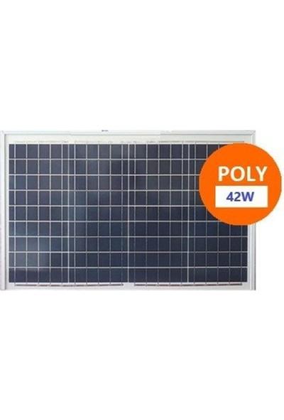 Lexron 42W Polikristal Güneş Paneli