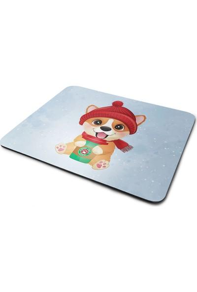 Wuw Gorki Yavr Köpek Desenli Dikdörtgen Mouse Pad