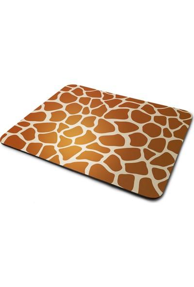 Wuw Zürafa Tasarımlı Dikdörtgen Kaymaz Taban Mouse Pad