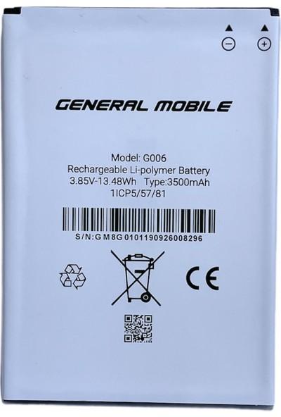 General Mobile Gm8 Go 3500MAH Batarya
