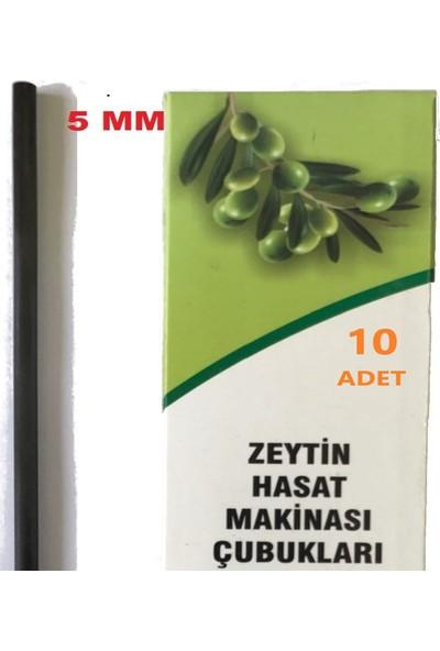 Zeytin Hasat Makinası 10 Adet 5mm Karbon Fiber Yedek Çubuk 10 Adet