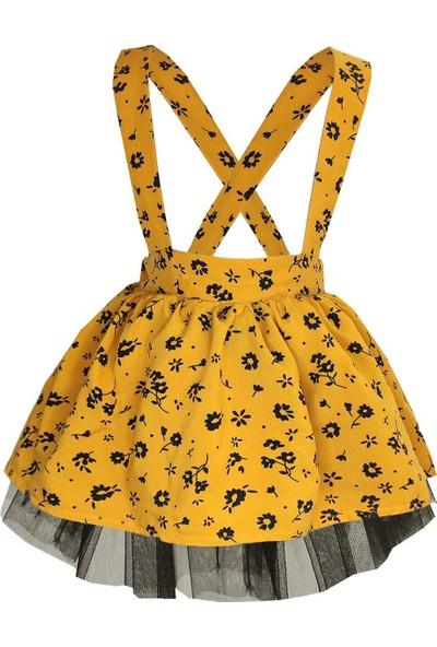 Shecco Babba Kız Çocuk Salopet Elbise