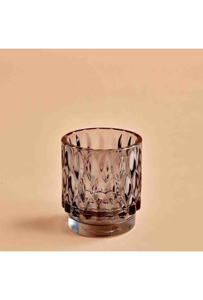 Bella Maison Drop Tealight Mumluk Koyu Gri 7x8 cm