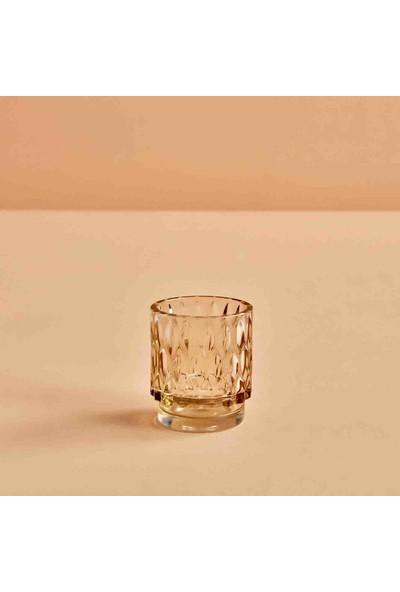 Bella Maison Drop Amber Tealight Mumluk 7x8 cm