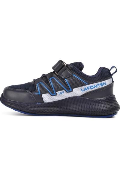 Lafonten Lacivert-Saks Çocuk Spor Ayakkabı