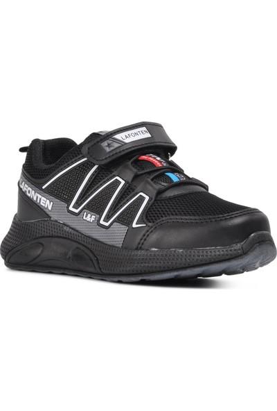 Lafonten Siyah-Füme Çocuk Spor Ayakkabı