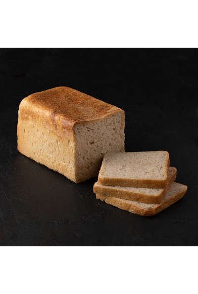 Kukumav Ekşi Mayalı Sade Tost Ekmeği 900 gr 2'li Paket