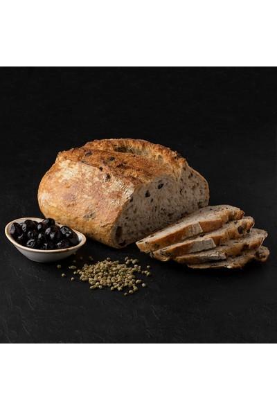 Kukumav Ekşi Mayalı Zeytinli Ekmek 700 gr 2'li Paket