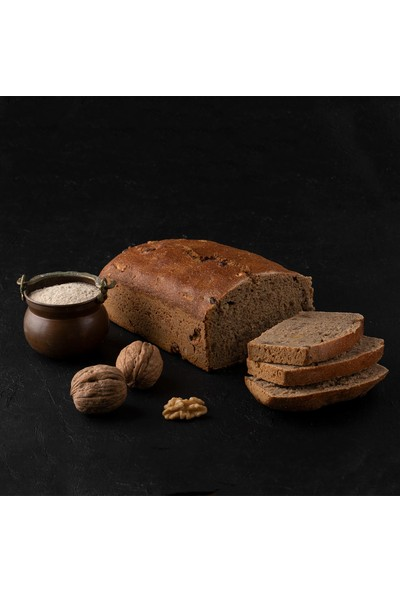 Kukumav Ekşi Mayalı Cevizli Tam Çavdar Ekmeği 900 gr 2'li Paket
