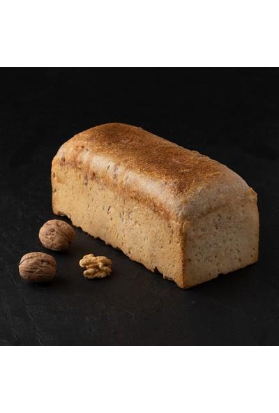Kukumav Ekşi Mayalı Cevizli Tost Ekmeği 950 gr 2'li Paket