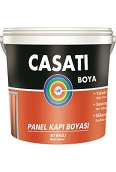 Casati Su Bazlı Panel Kapı Boyası Beyaz 0,75 lt