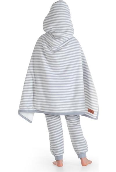 Owli Giyilebilir Battaniye Çocuk