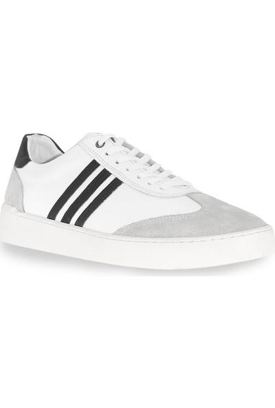 Çizgi Deri Erkek Ayakkabı