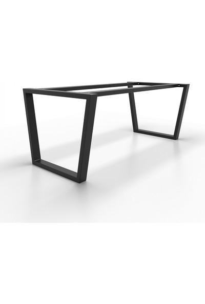 Metal Masa Ayağı Destekli Masa Ayağı Modelleri Yemek Masası Mutfak Masası Ayakları 70X60X100 cm