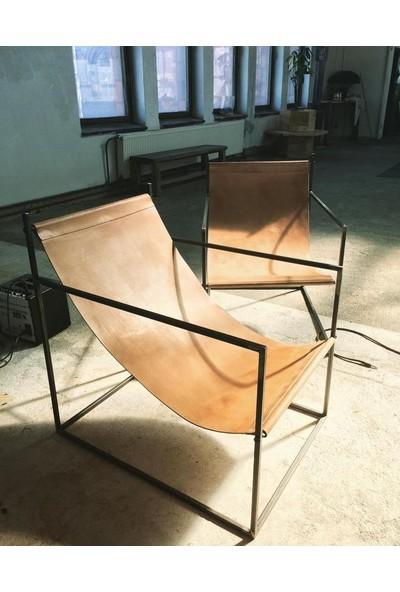 Abronya Metal Şezlong Çerçeveli Şezlong Tasarımı Bahçe Mobilya Modelleri 1 Adet