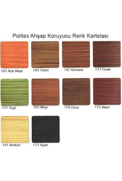 Polisan Politex Lüx Vernik Ahşap Koruyucu Mat 0,75LT Ceviz