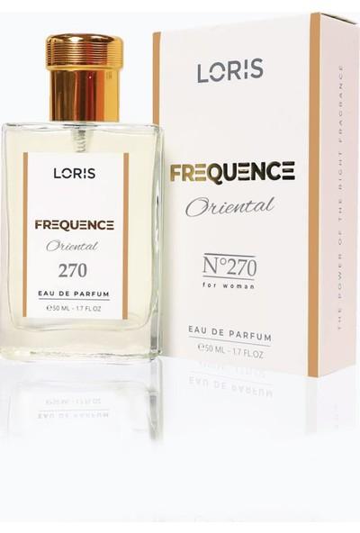 Loris K-270 Frequence Parfume Edp 50ml Oryantal-Çiçek Kadın Parfüm